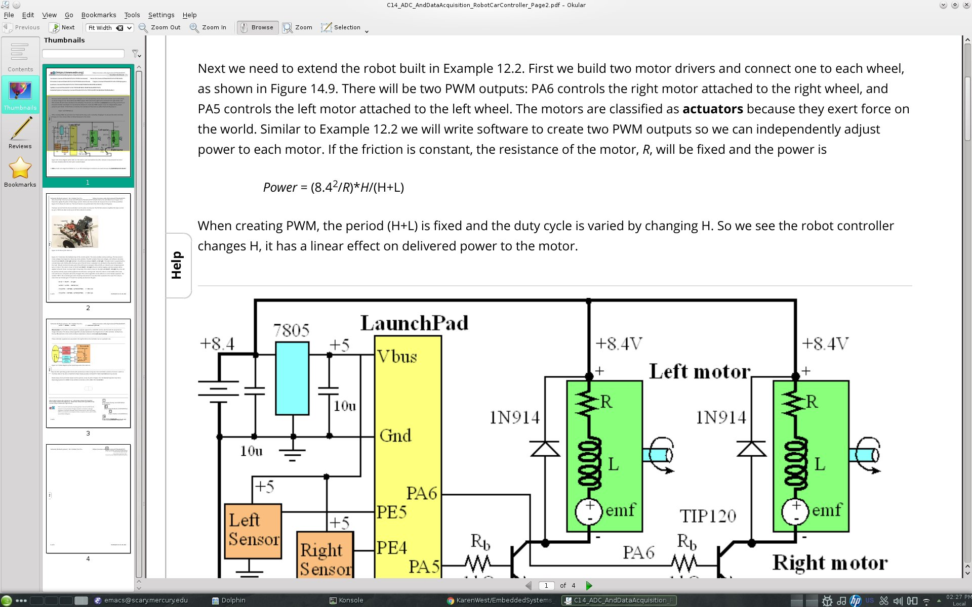 Embedded Systems 7805 Pin Diagram Circuit Of Robot Car Actuators Power For Controller