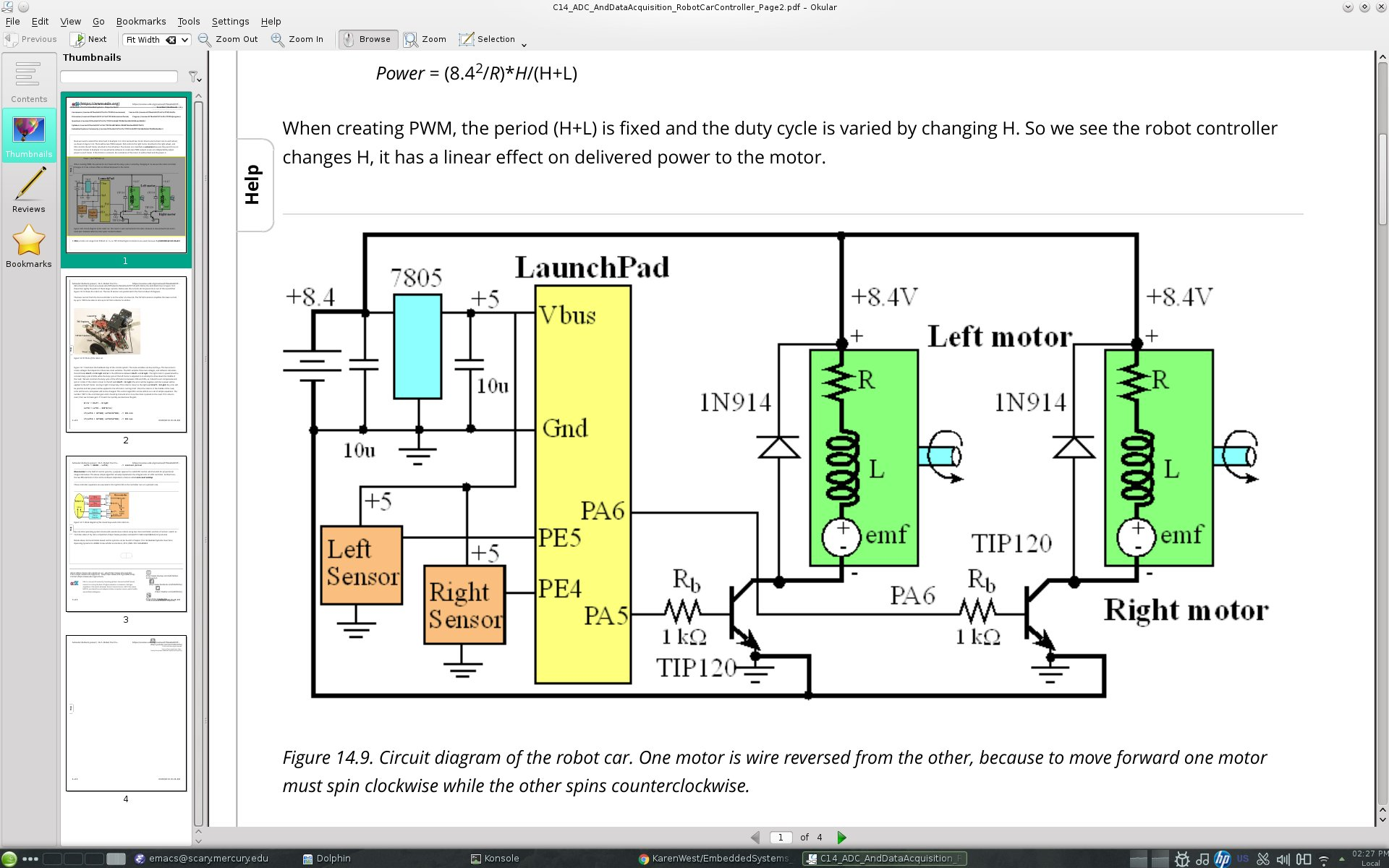 Embedded Systems 7805 Pin Diagram Circuit Of Robot Car